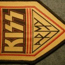 KISS sew-on PATCH kiss army import VINTAGE