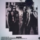 U2 DECAL not STICKER Zooropa band pic U-2 VINTAGE