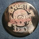 GRATEFUL DEAD PINBACK BUTTON cyclops skull VINTAGE