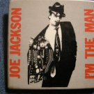 JOE JACKSON PINBACK BUTTON I'm the Man square VINTAGE JUMBO