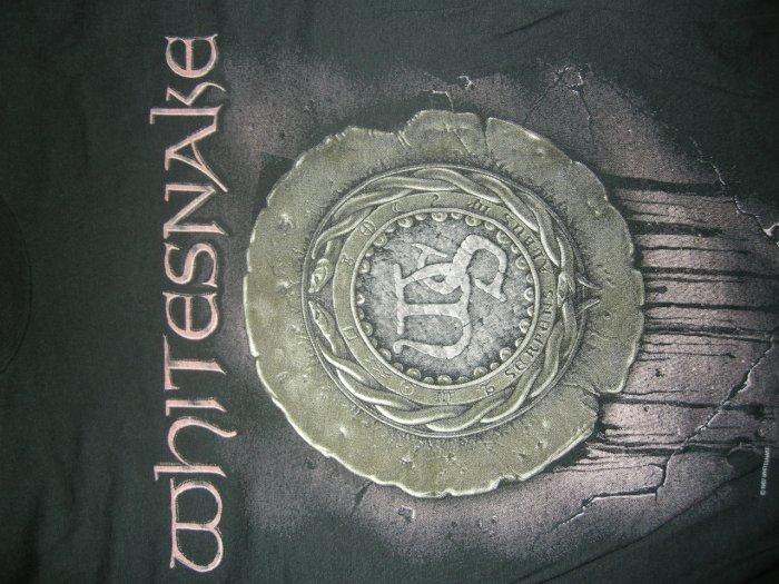 WHITESNAKE SHIRT self titled 1987 Tour L VINTAGE 80s