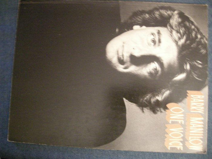 BARRY MANILOW SONGBOOK One Voice song book VINTAGE