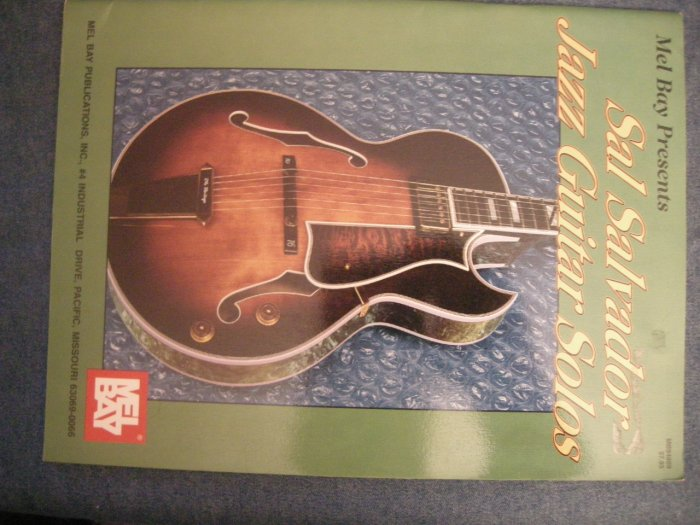 SAL SALVADOR SONGBOOK jazz guitar solos tablature song book TAB