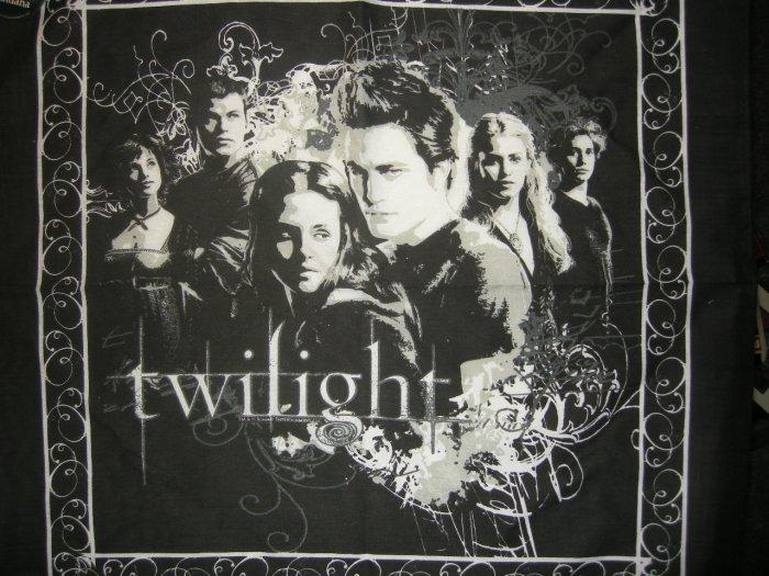 TWILIGHT BANDANA group pic vampire movie licensed NEW
