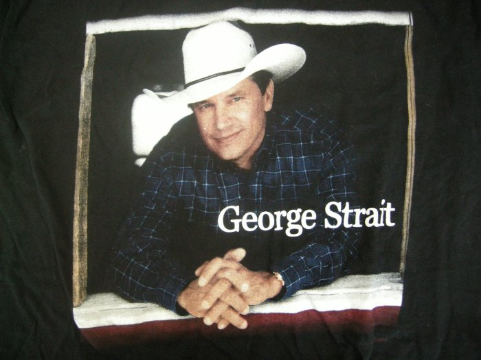GEORGE STRAIT SHIRT Country Music Festival L