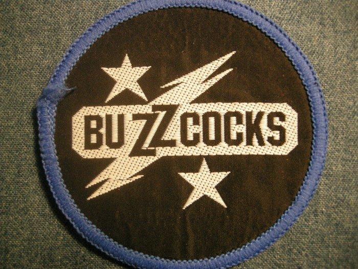 BUZZCOCKS sew-on PATCH logo punk VINTAGE