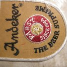 PABST sew-on PATCH Andeker the Beer Supreme VINTAGE