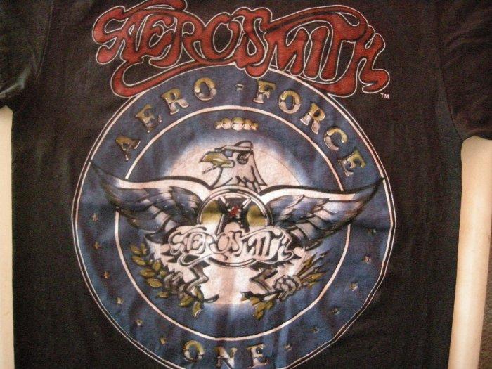 AEROSMITH SHIRT 1987 Tour Aero Force One M VINTAGE 80s