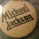 MICHAEL JACKSON PINBACK BUTTON judas priest logo VINTAGE 80s!