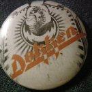 DOKKEN PINBACK BUTTON phoenix logo don VINTAGE