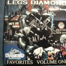CD LEGS DIAMOND Favorites hits AUTOGRAPHED