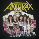 ANTHRAX SHIRT 1988 Tour State of Euphoria XL VINTAGE 80s