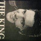 ELVIS PRESLEY sew-on PATCH the King import VINTAGE