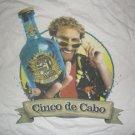 SAMMY HAGAR SHIRT Cinco De Cabo wabo tequila van halen promo L NEW