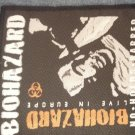 BIOHAZARD sew-on PATCH Live in Europe IMPORT