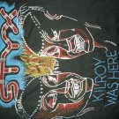 STYX SHIRT Kilroy Was Here mr roboto XL VINTAGE 80s