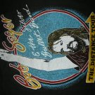 BOB SEGER AND THE SILVER BULLET BAND SHIRT the Distance Tour L VINTAGE 80s