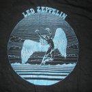 LED ZEPPELIN SHIRT blue swan song L VINTAGE 80s