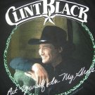 CLINT BLACK SHIRT Put Yourself In My Shoes country L