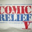 COMIC RELIEF 5 SHIRT robin williams jim carrey billy crystal jay leno 1992 L