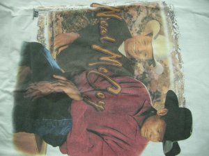 NEAL McCOY TOUR SHIRT 40 Butt Holding country L SALE
