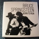 BRUCE SPRINGSTEEN PINBACK BUTTON Born to Run square VINTAGE JUMBO