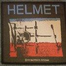 HELMET sew-on PATCH album art IMPORT