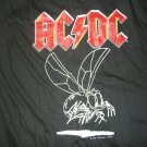 AC/DC SHIRT 1985 Tour Fly On The Wall acdc TANK XL VINTAGE 80s