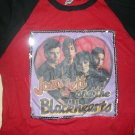 JOAN JETT AND THE BLACKHEARTS SHIRT band pic girls runaways LS RINGER M
