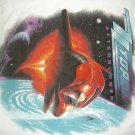 ZZ TOP TOUR SHIRT Afterburner zztop SMALL VINTAGE 80s