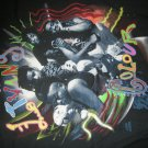 LIVING COLOUR SHIRT Everything is Possible But Nothing is Real color XL VINTAGE