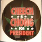CHEECH AND CHONG STICKER For President OFFICIAL TOUR