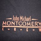 JOHN MICHAEL MONTGOMERY SHIRT country XL CREW ONLY