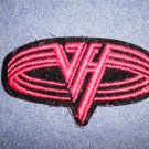 VAN HALEN iron-on PATCH red oval logo VINTAGE
