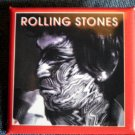 THE ROLLING STONES PINBACK BUTTON Tattoo You keith richards square NEW