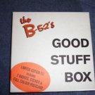 CD B-52's Good Stuff Box pinback buttons postcard sticker LT ED SET