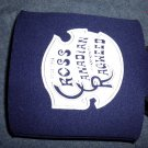 CROSS CANADIAN RAGWEED COOZIE Circa 1994 blue koozie HTF