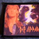DEF LEPPARD sew-on PATCH Hysteria joe elliott photo VINTAGE