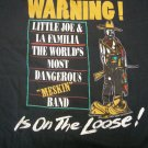 LITTLE JOE SHIRT 1999 Tour la familia world's most dangerous meskin tejano latin L