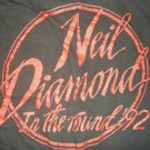 NEIL DIAMOND TOUR SHIRT 1992 In The Round Tour longsleeve sweatshirt L