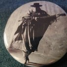 STEVIE RAY VAUGHAN PINBACK BUTTON poncho double trouble