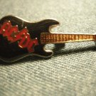 AC/DC METAL PIN guitar enamel badge acdc VINTAGE
