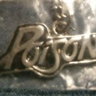 POISON METAL NECKLACE classic logo VINTAGE