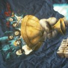 MONTY PYTHON SHIRT Holy Grail blue XL NEW