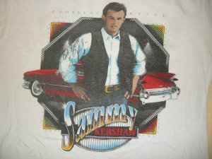 Sammy Kershaw Shirt Cadillac Style Country L Autographed