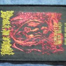 CRADLE OF FILTH sew-on PATCH Lovecraft & Witch Hearts cof IMPORT