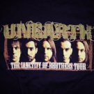 UNEARTH 2006 TOUR SHIRT The Sanctity Of Brothers M NEW