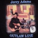 JERRY ADAMS SHIRT Outlaw Love country 2XL XXL