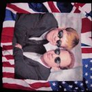 ELTON JOHN BILLY JOEL 1994 TOUR SHIRT flag sunglasses piano XL SALE