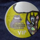 THE ROLLING STONES BACKSTAGE PASS World Tour 94/95 voodoo lounge bsp yellow VIP